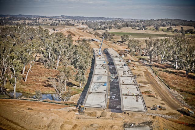 Construction Photography - Aerial Photograph May 2011