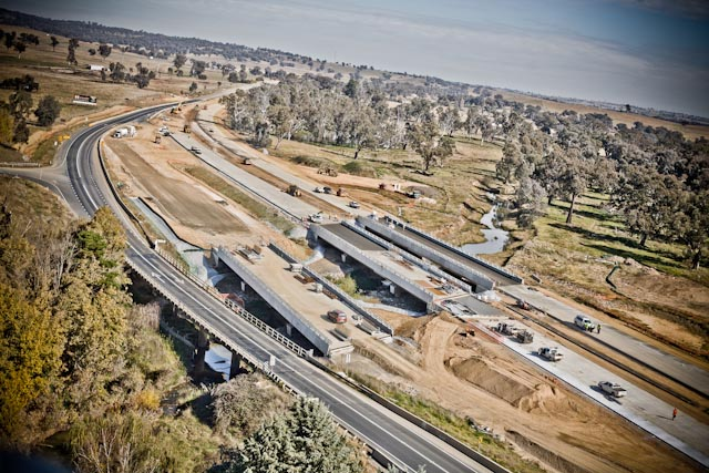 Hume Highway & Bridge Construction Upgrade.