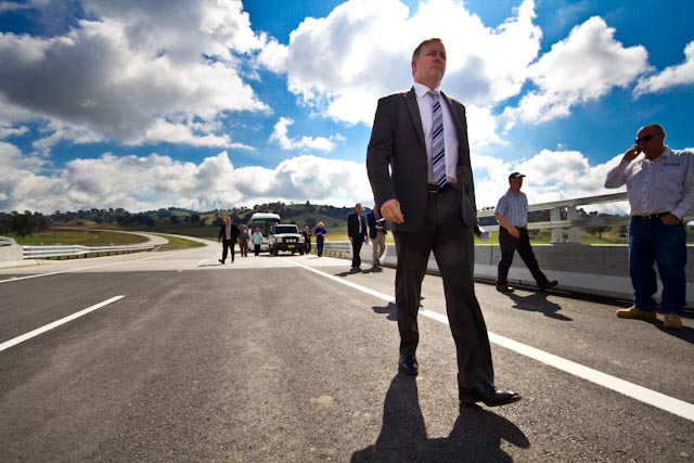 Minister for Transport - Woomargama Bypass Opening